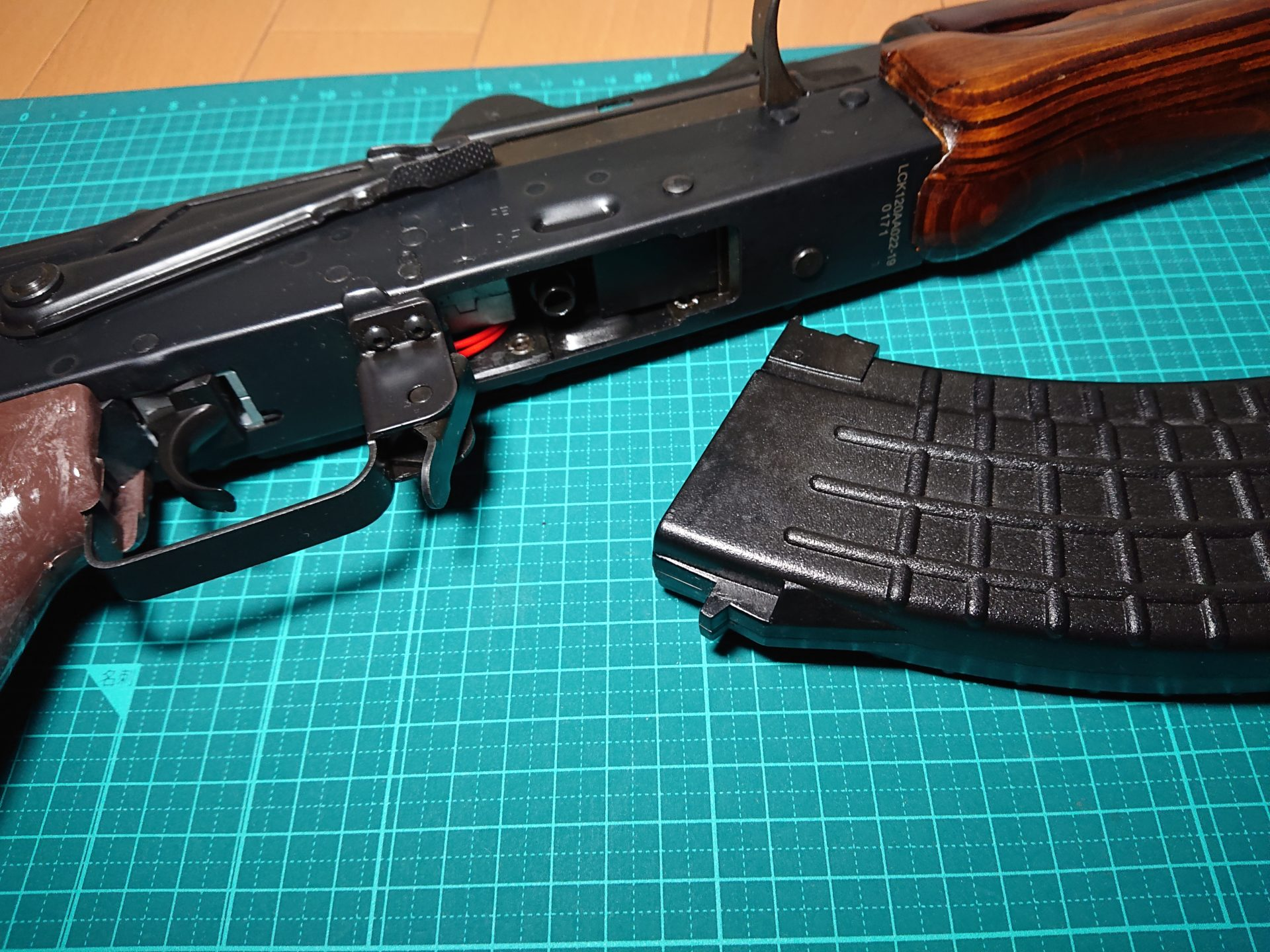 G.A.W. LCT/E&L AK用マグウェルスペーサー