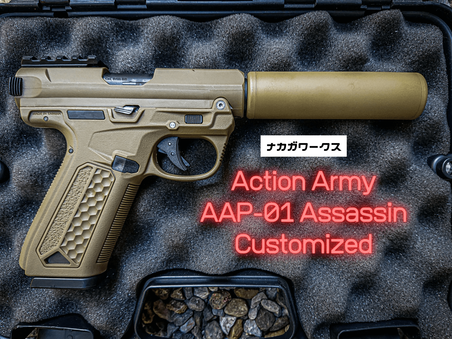 Action Army AAP-01 ASSASSIN カスタム